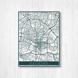 Raleigh North Carolina | Hanging Canvas