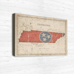 Tennessee Map Print