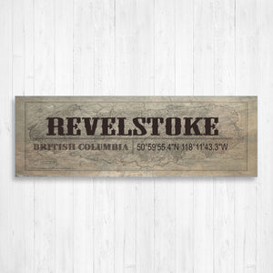 Revelstoke British Columbia Wall Canvas