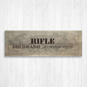 Rifle Colorado Wall Canvas