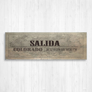 Salida Colorado Wall Canvas