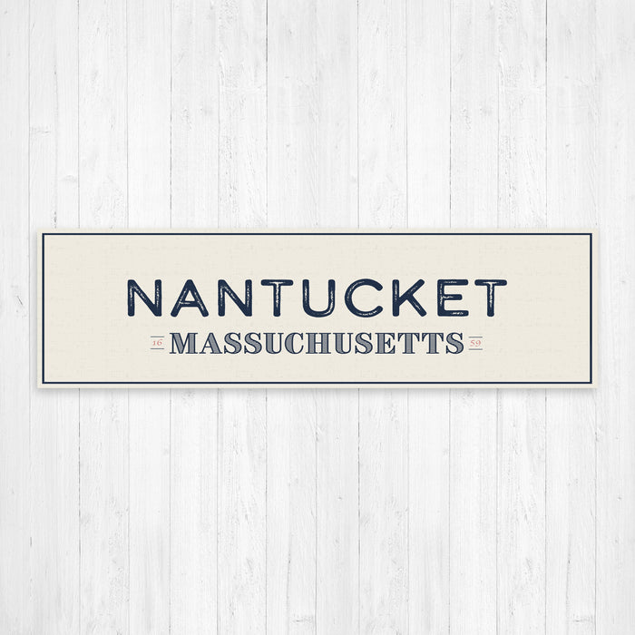 Nantucket Massachusetts Wall Canvas