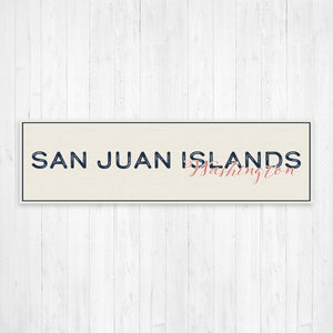 San Juan Islands Washington Wall Canvas