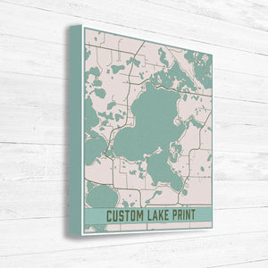 Customized Lake Map