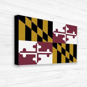 Maryland State Flag Print