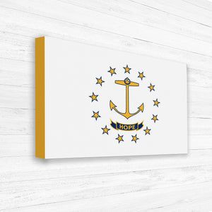 Large Flag Canvas