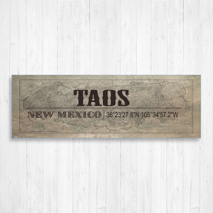 Taos New Mexico Wall Canvas Print