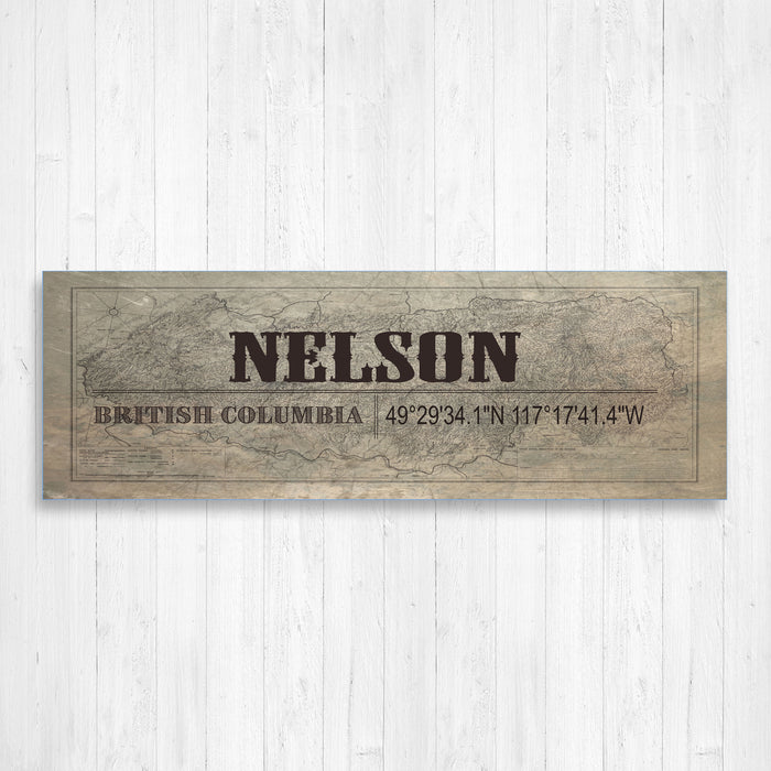 Nelson British Columbia Wall Canvas