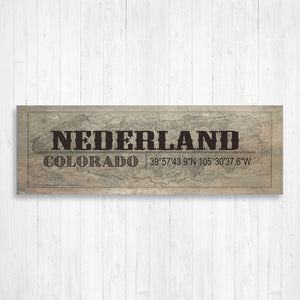 Nederland Colorado Wall Canvas