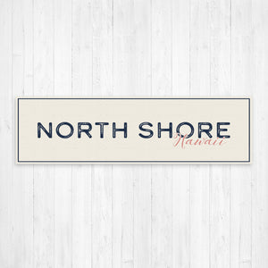 North Shore Hawaii Wall Canvas