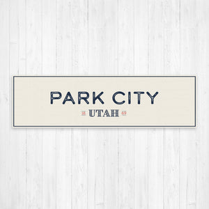 Park City Utah Wall Canvas