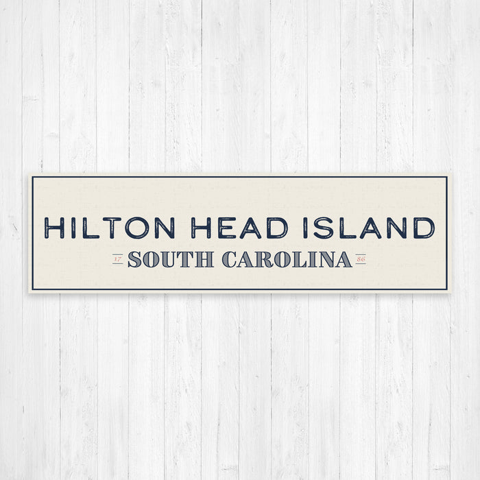 Hilton Head Island South Carolina Wall Canvas