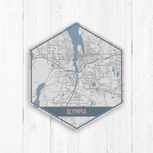 Olympia Washington Street Map