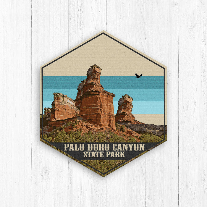Palo Duro Canyon State Park Canvas Print