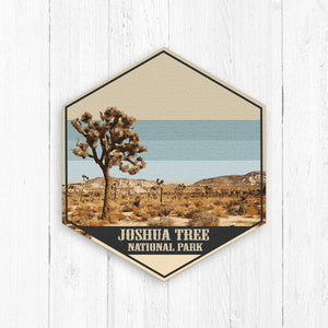 Joshua Tree National Park Hexagon Canvas