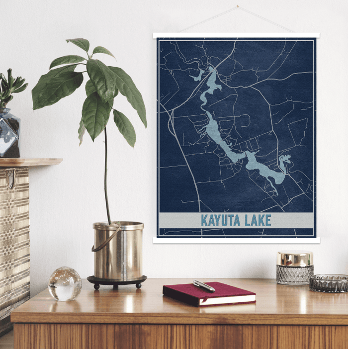 Kayuta Lake New York Map Print