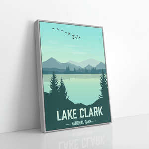 Lake Clark National Park Modern Print