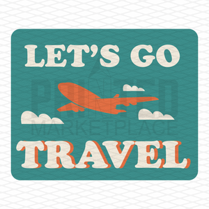 Let's Go Travel Onesie® | Infant Travel Apparel | Toddler Clothing