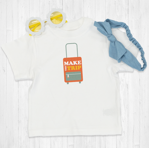 Make The Trip Suitcase Onesie® | Printed Marketplace