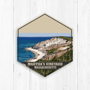Marthas Vineyard Massachusetts Illustration