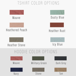 Floral Polaroid Tee Color Options