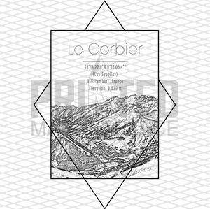 Le Corbier  Rectangle