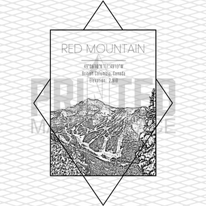Red Mountains Rectangle