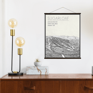 Sugarloaf Maine Ski Resort Print