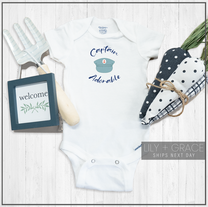 Captain Adorable Onesie® | Baby Onesie® | Youth Apparel