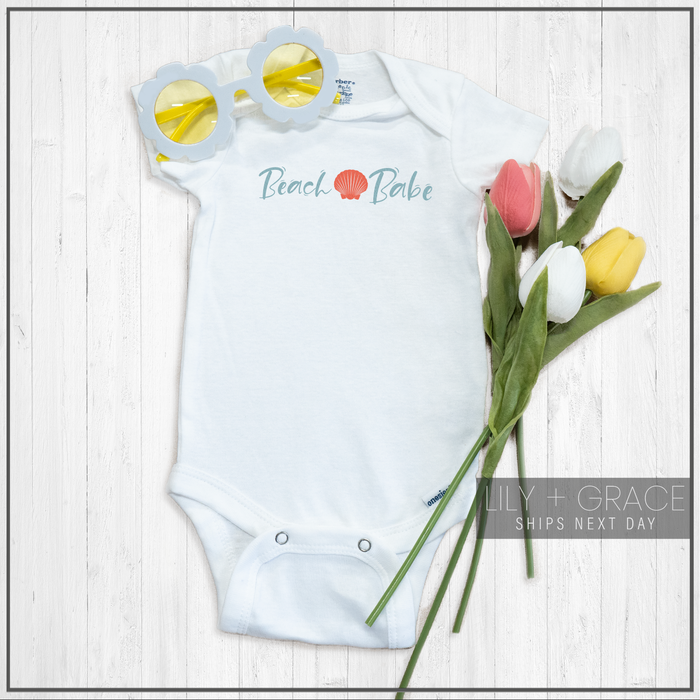 Beach Babe Onesie® | Baby Bodysuit | Youth Apparel