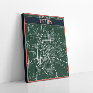 Tifton Hanging Canvas by Printed Marketplace