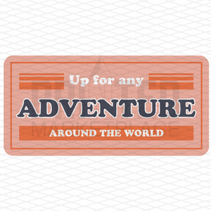 Up For Any Adventure Onesie®