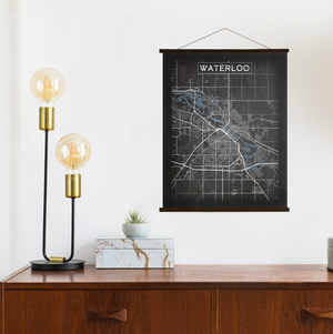 Waterloo Map By Printed Marketplace