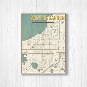 Winter Garden Florida Map