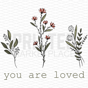 You Are Loved Floral Onesie® | Toddler Apparel | Kid's Boutique