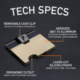 PocketPro Wallet - Honey Bronze - PocketPro Keys