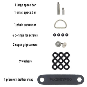 Singularity Key Organizer Hardware | PocketPro