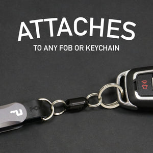 Snap Release non-magnetic Quick Release keychain | PocketPro