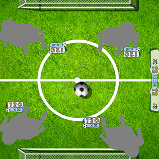 Butter Soccer | An immersive projector game set suitable for STEM schools and education centres