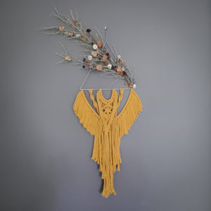 """Everly"" Macrame Wall Hanging"