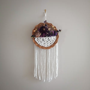 """Lucy"" Basket Wall Hanging"