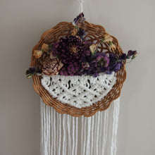"Load image into Gallery viewer, ""Lucy"" Basket Wall Hanging"
