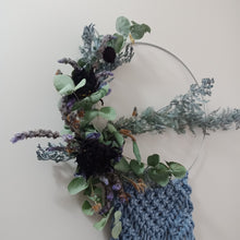 "Load image into Gallery viewer, ""Selene"" Macrame Wreath"