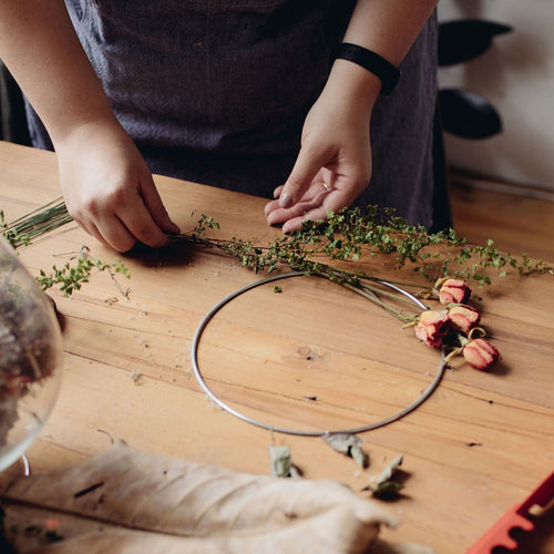 Saturday 18th July 2020 Mini Wreath Workshop