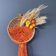 "Load image into Gallery viewer, ""Cassidy"" Basket Wall Hanging"
