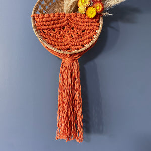 """Cassidy"" Basket Wall Hanging"