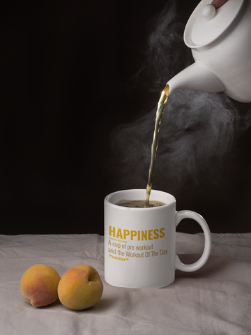 Cup of Happiness...Workout of The Day!