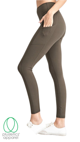 The Basics Leggings - Olive