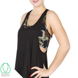 Camo 2-in-1 Bra and Racerback Tank