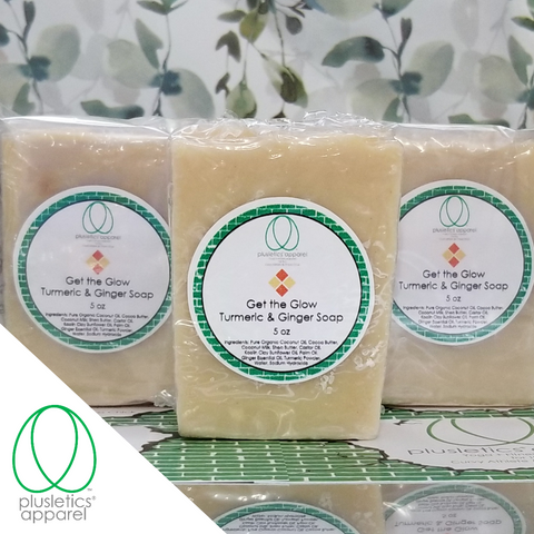 Get the Glow Turmeric & Ginger Soap